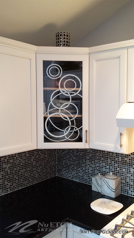 Art for Glass - Cabinet Glass Designs