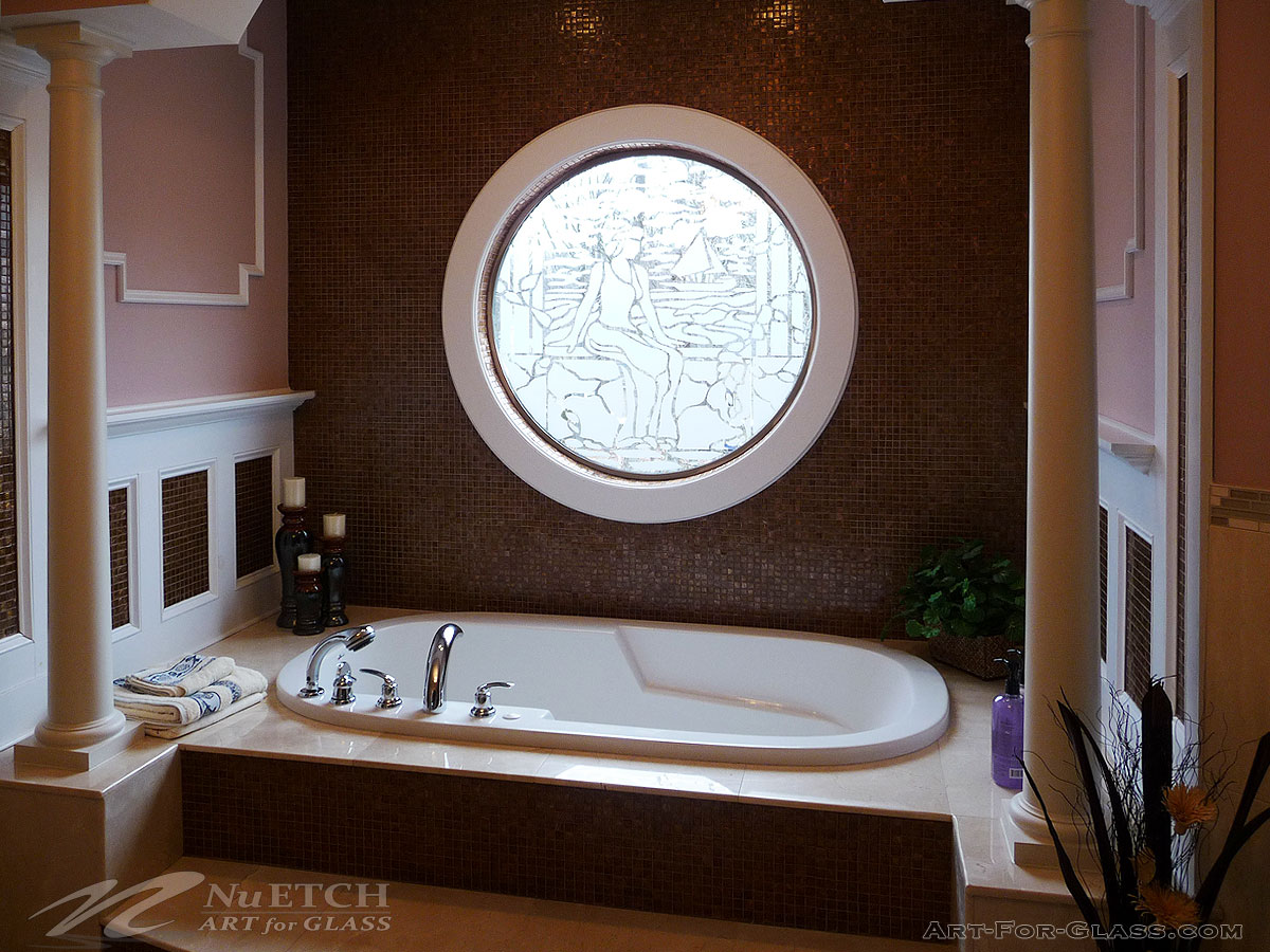 Decorating & Privacy Solutions For Bathroom Windows