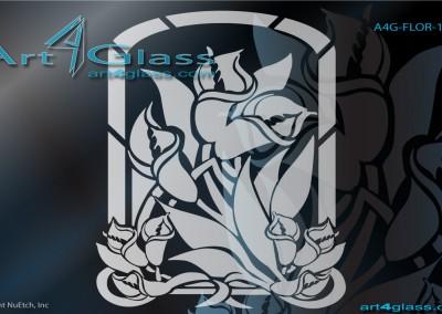 floral art designs for glass catalog - Art Design Ideas